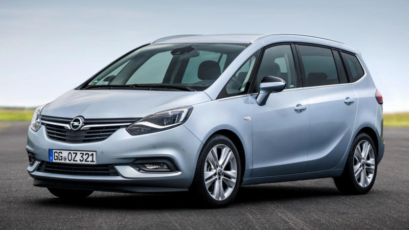 Opel Zafira фото авто
