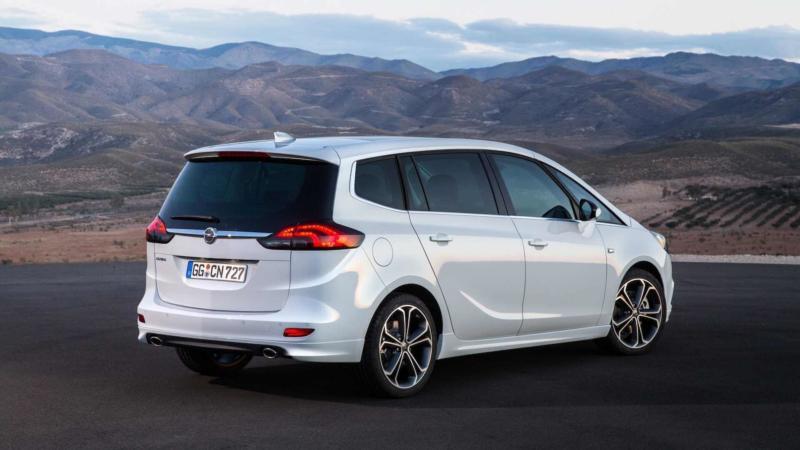 Рестайлинг Opel Zafira