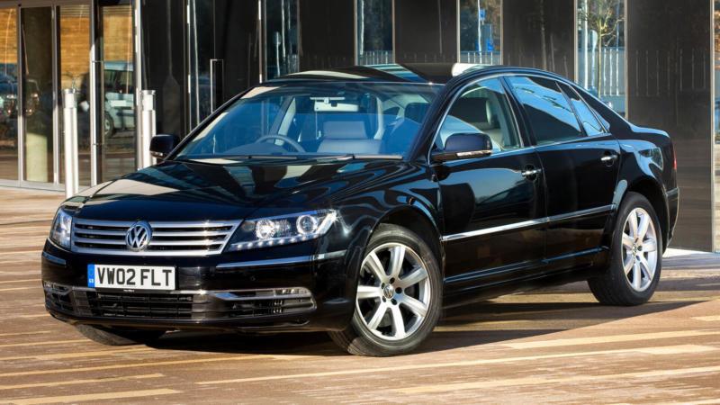 Volkswagen Phaeton фото авто