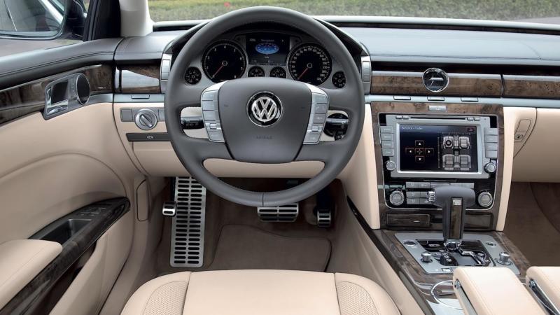 Салон Volkswagen Phaeton
