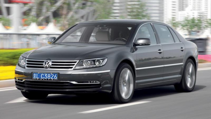 Фото авто Volkswagen Phaeton