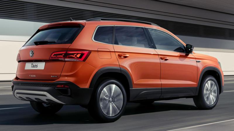 Volkswagen Taos фото атво