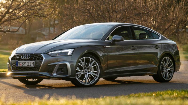 Audi A5 2020 года