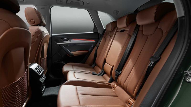 Audi Q5 фото салона