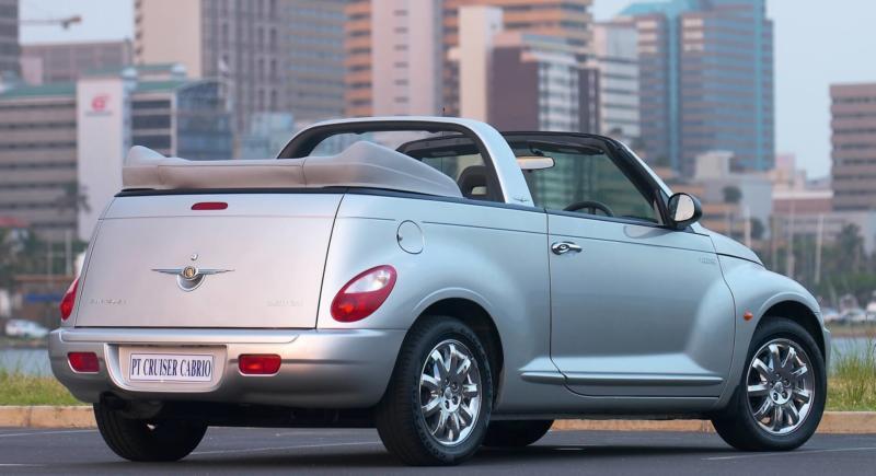 Chrysler PT Cruiser вид сзади