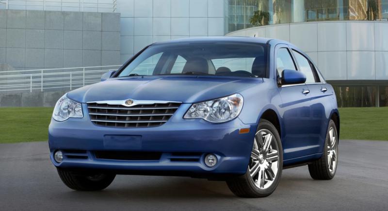 Chrysler Sebring вид спереди