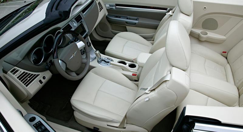 Chrysler Sebring фото салона