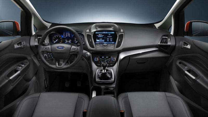 Интерьер Ford C-Max