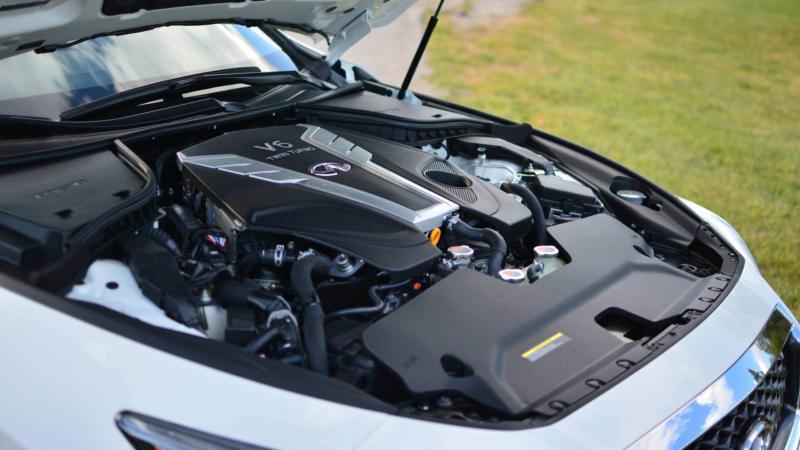 Двигатель Infiniti Q50