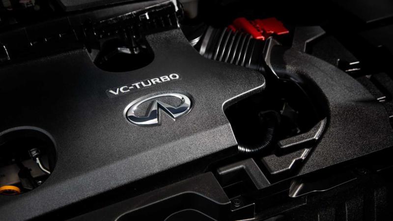 Двигатель Infiniti QX55