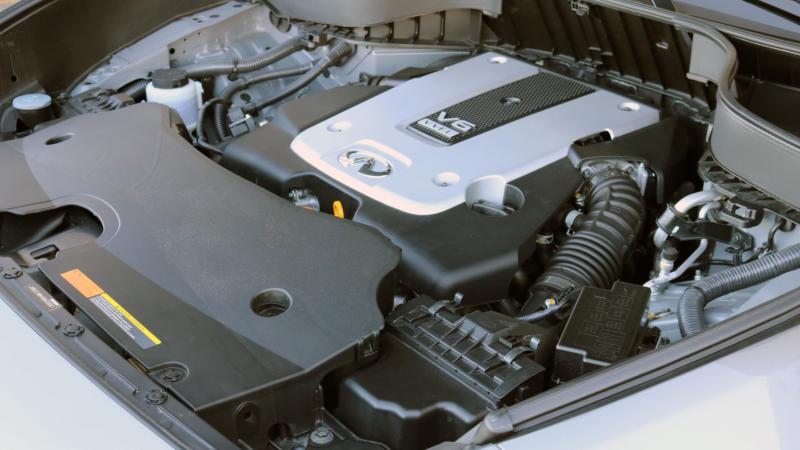 Двигатель Infiniti QX70