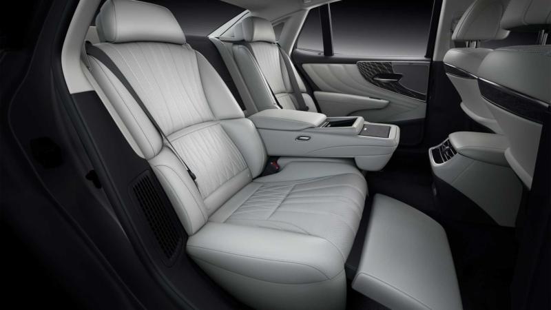 Lexus LS фото салона
