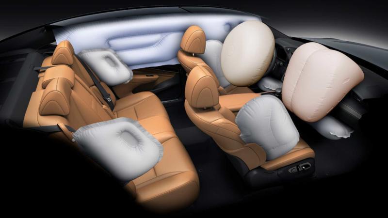 Подушки безопасности Lexus LS