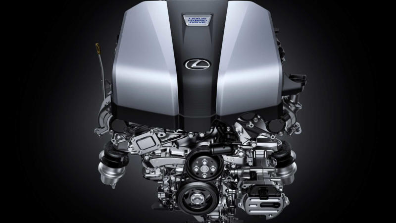 Двигатель Lexus LS