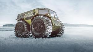 Вездеход Бурлак: готов покорить Северный полюс!