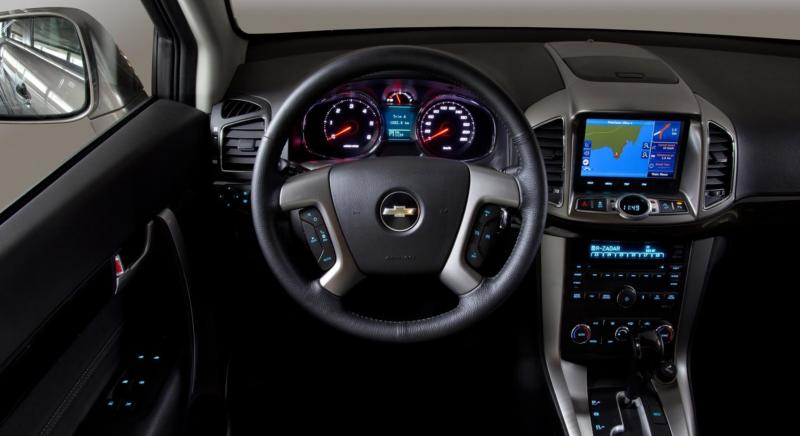 Интерьер Chevrolet Captiva