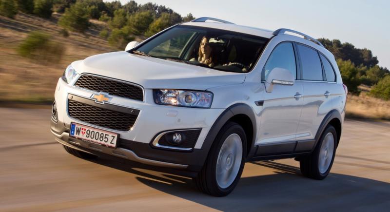 Chevrolet Captiva фото авто