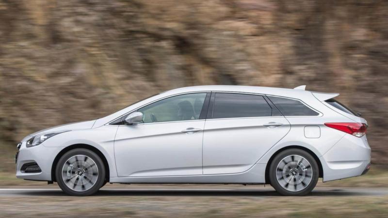 Вид сбоку Hyundai i40