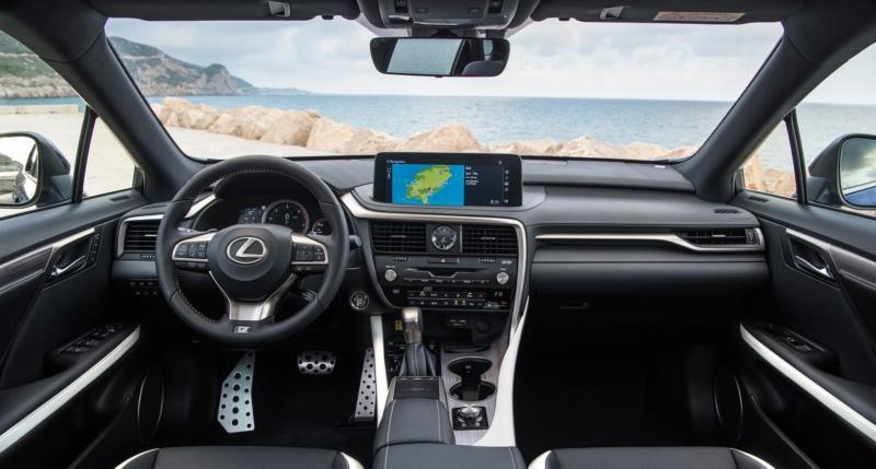 Интерьер Lexus RX