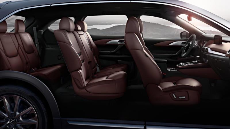Mazda CX-9 фото салон
