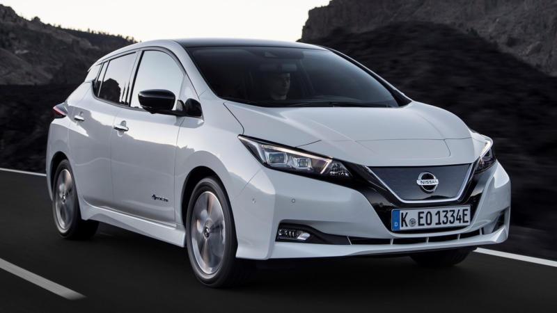 Nissan Leaf фото авто