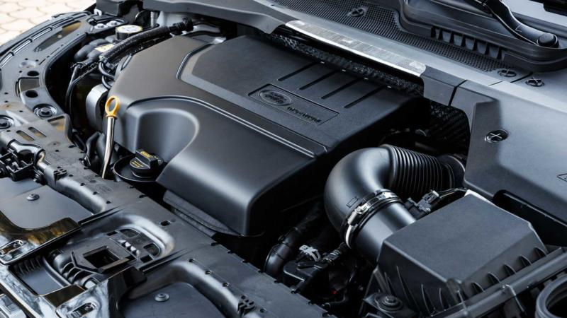 Двигатель Range Rover Evoque