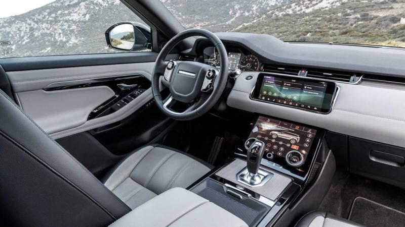 Range Rover Evoque фото салона