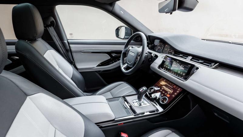 Салон Land Rover Range Rover Evoque