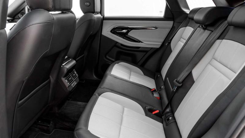 Range Rover Evoque задний ряд
