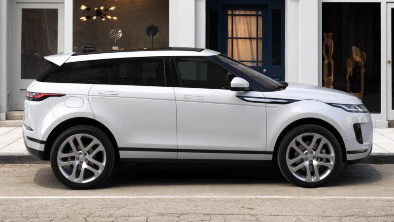 Range Rover Evoque вид сбоку
