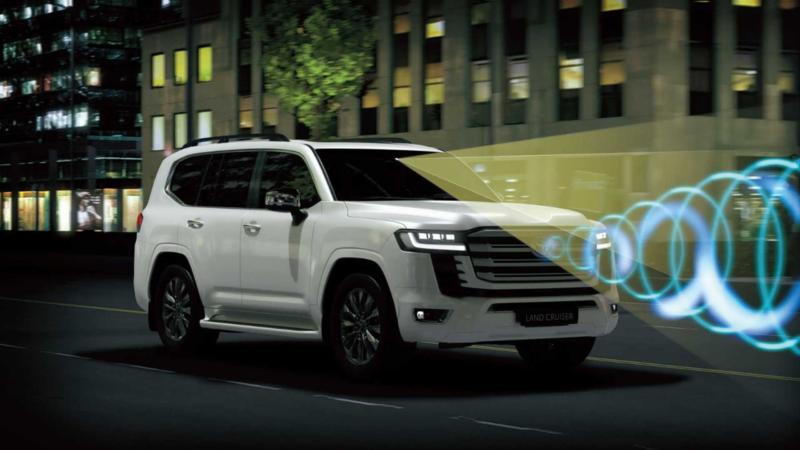Безопасность Toyota Land Cruiser 300
