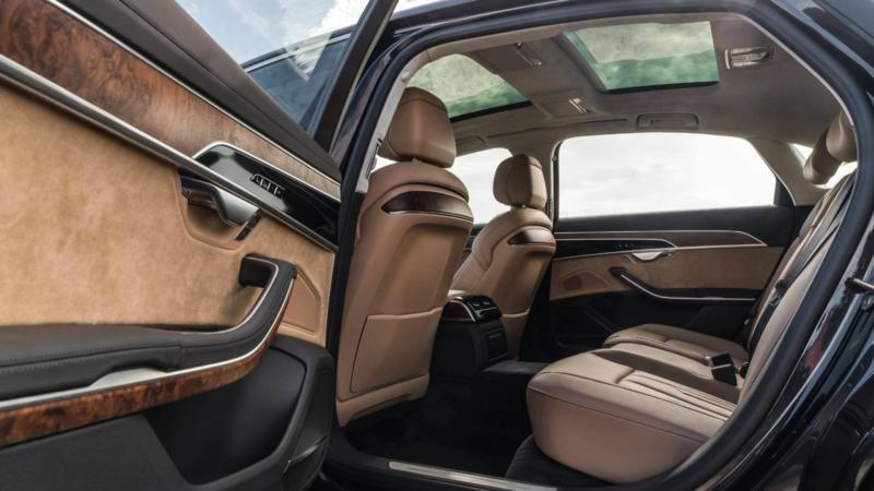 Audi A8 фото салона
