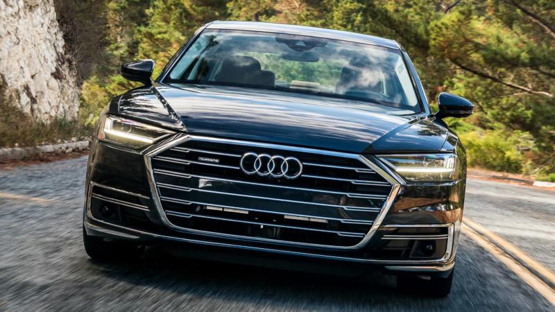 Audi A8 фото авто