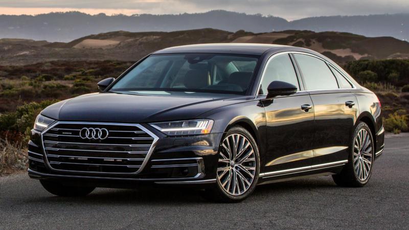 Фотография Audi A8