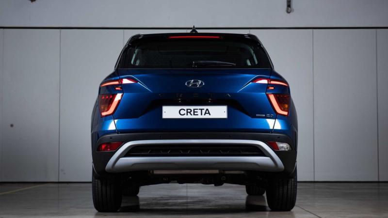 Hyundai Creta вид сзади