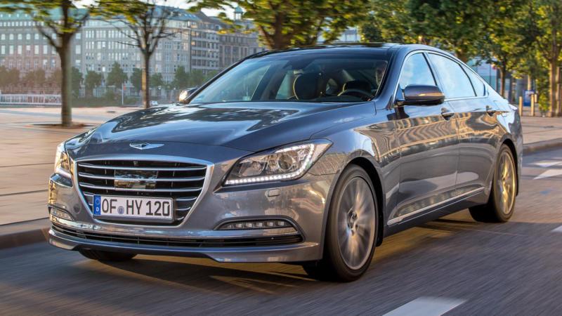 Hyundai Genesis фото авто