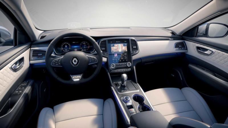 Интерьер Renault Talisman