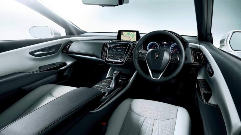 Интерьер Toyota Crown