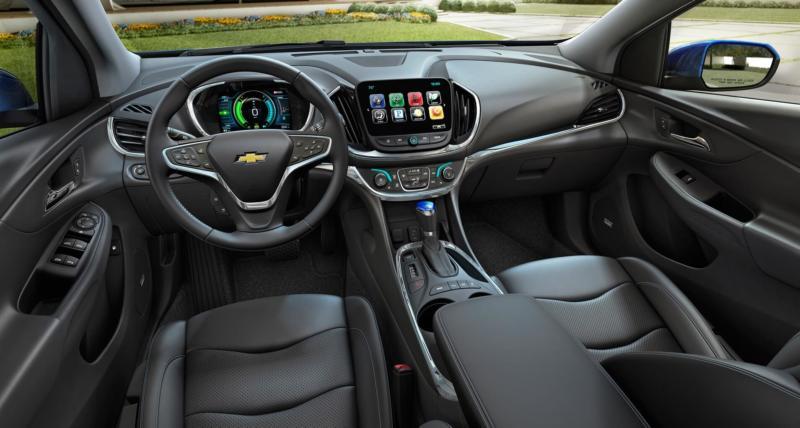 Интерьер Chevrolet Volt