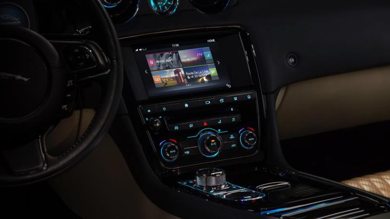Jaguar XJ фото салона