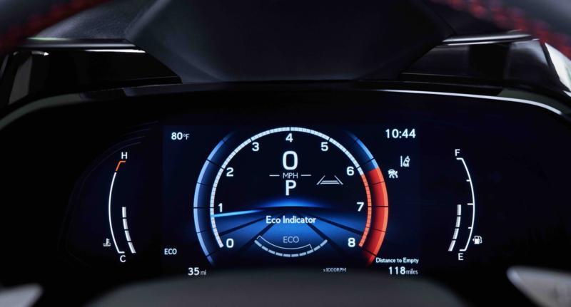 Панель приборов Lexus NX