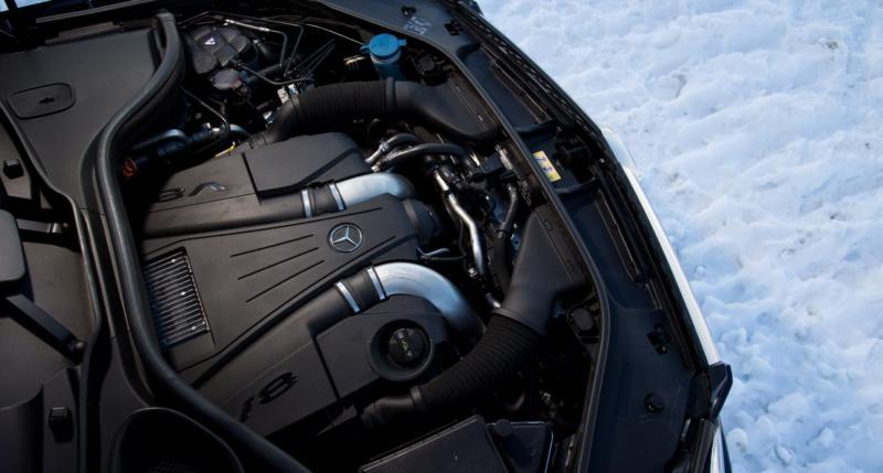 Двигатель Mercedes-Benz GL