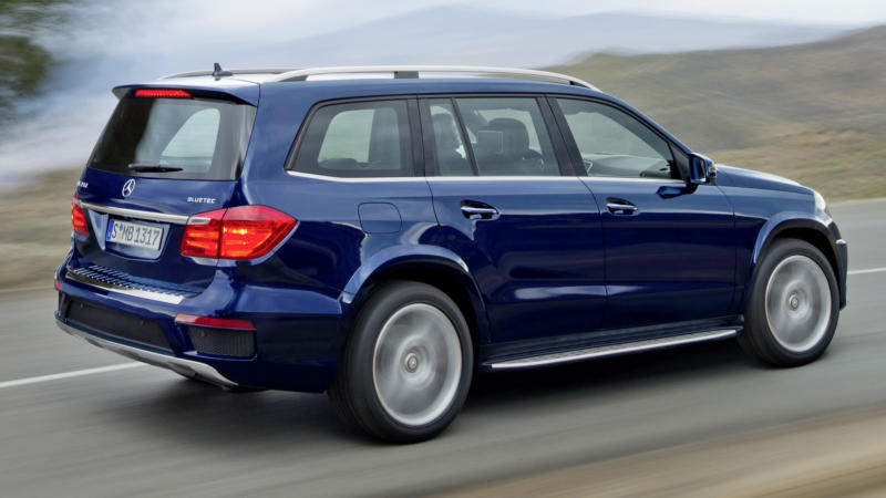 Новый Mercedes-Benz GL