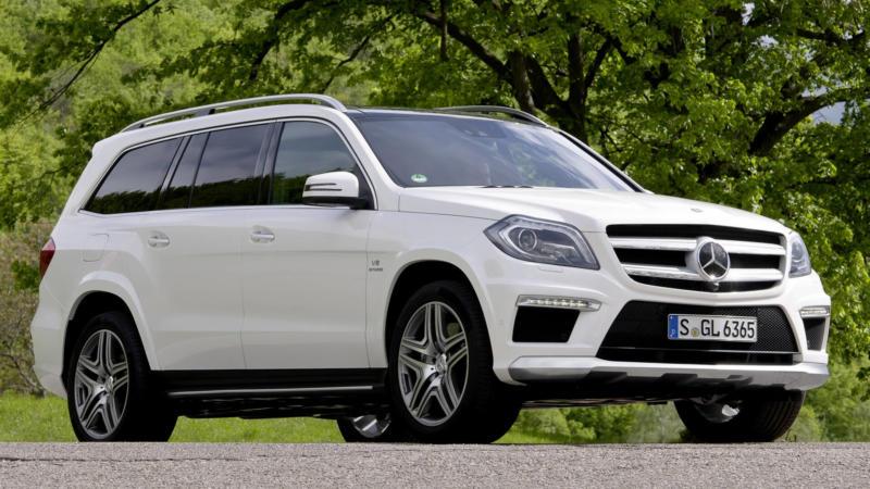 Mercedes-Benz GL авто