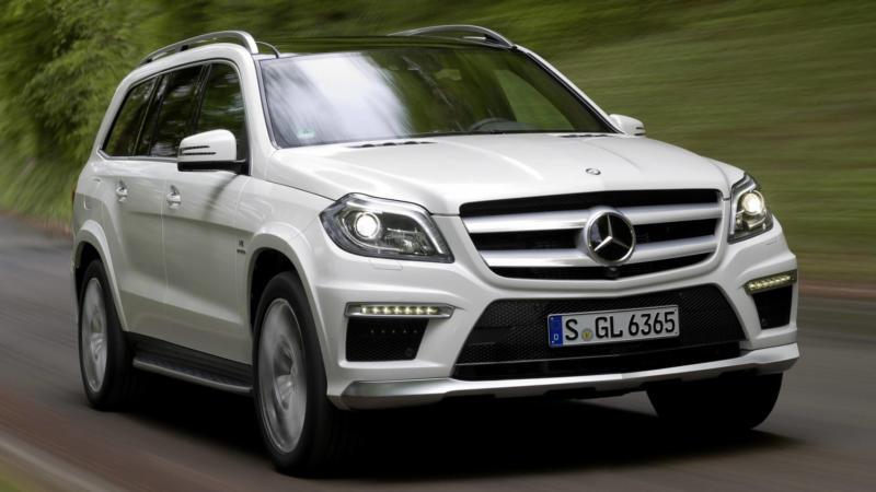 Mercedes-Benz GL вид спереди