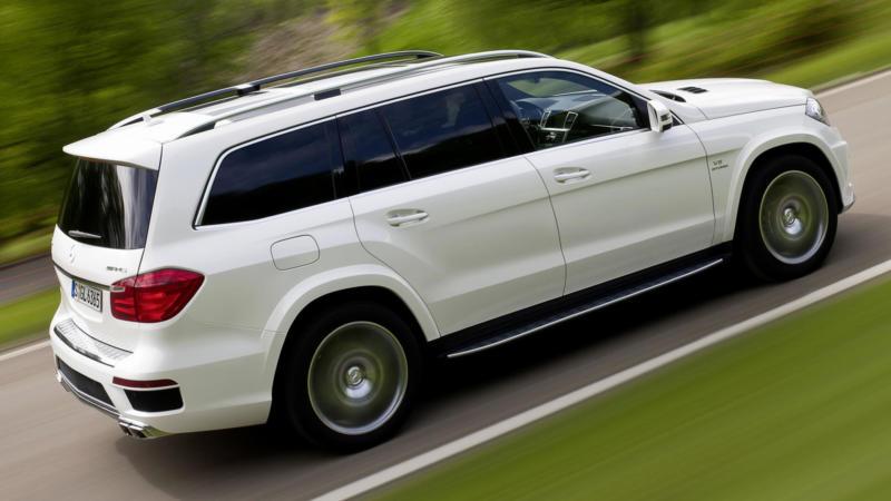 Авто Mercedes-Benz GL