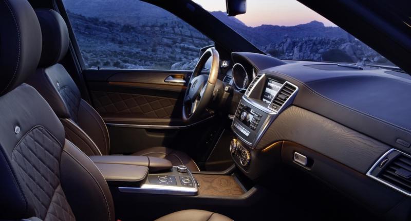 Салон Mercedes-Benz GL