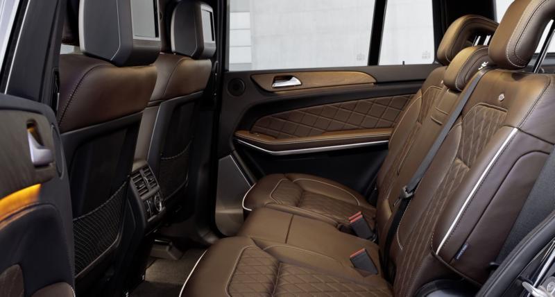 Фото салона Mercedes-Benz GL