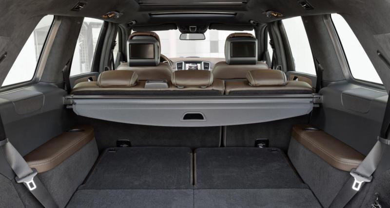 Багажник Mercedes-Benz GL