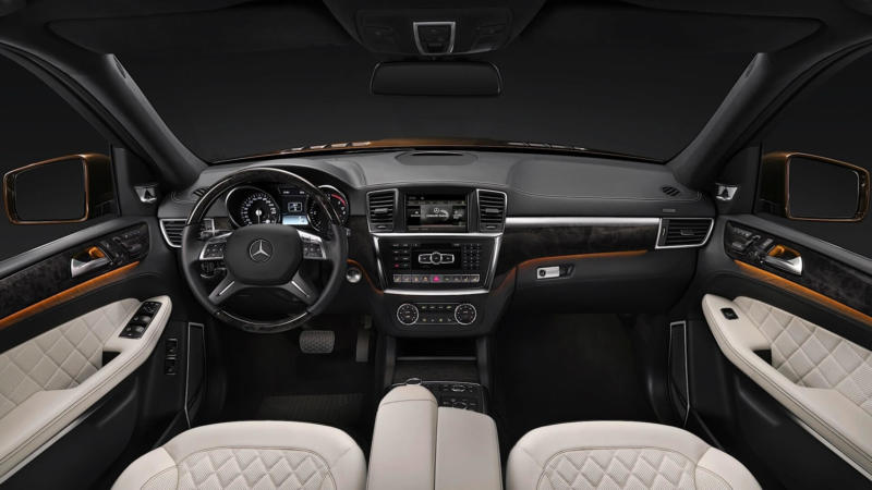 Интереьр Mercedes-Benz GL